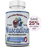 MX2 Cognitive Blend. Brain Health Blend. Blueberry Pterostilbene Plus Muscadine Grape Resveratrol. 500mg x 60 Vegetarian Capsules. Made in US Quality