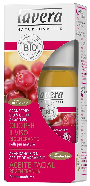 lavera Olio per il Viso rigenerante sulle Cellule ∙ Con 10 Olios Bio ∙ Cranberry & Olio de Argan ∙ Vegan ∙ Bio ∙ 100% Cosmetici Naturali 30 ml Laverana Gmbh & Co. Kg 106609