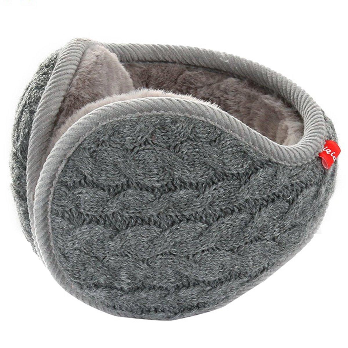 Butterme Unisex Knit Foldable EarMuffs Pl/üsch Samt Ohrensch/ützer Winterzubeh/ör Outdoor Ohrensch/ützer f/ür Herren /& Damen Gelb