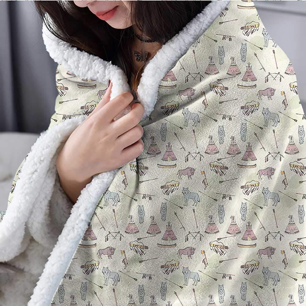 Amazon.com: Beihai1Sun - Manta de franela y sherpa de estilo ...