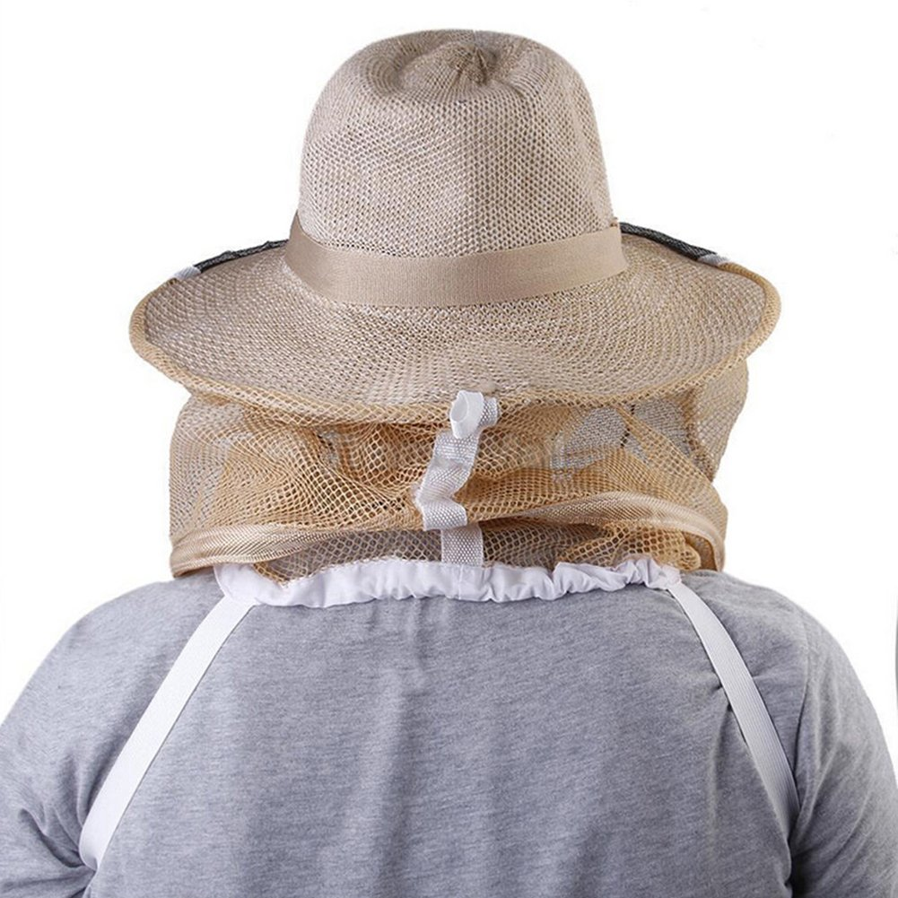 Kocome Beekeeper Beekeeping Veil with Round Cowboy Hat - Anti Mosquito Bee Insect - Head Face Protector by Kocome (Image #3)