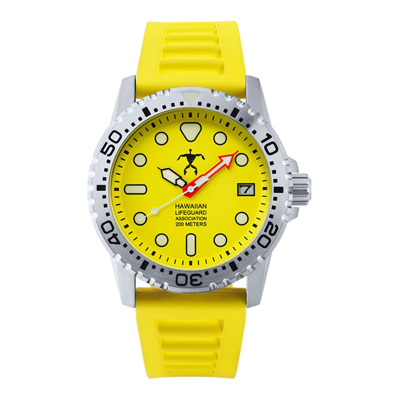 87ad336ce5e Amazon.com  Hawaiian Lifeguard Association HLA 5508 Analog Watch  Watches