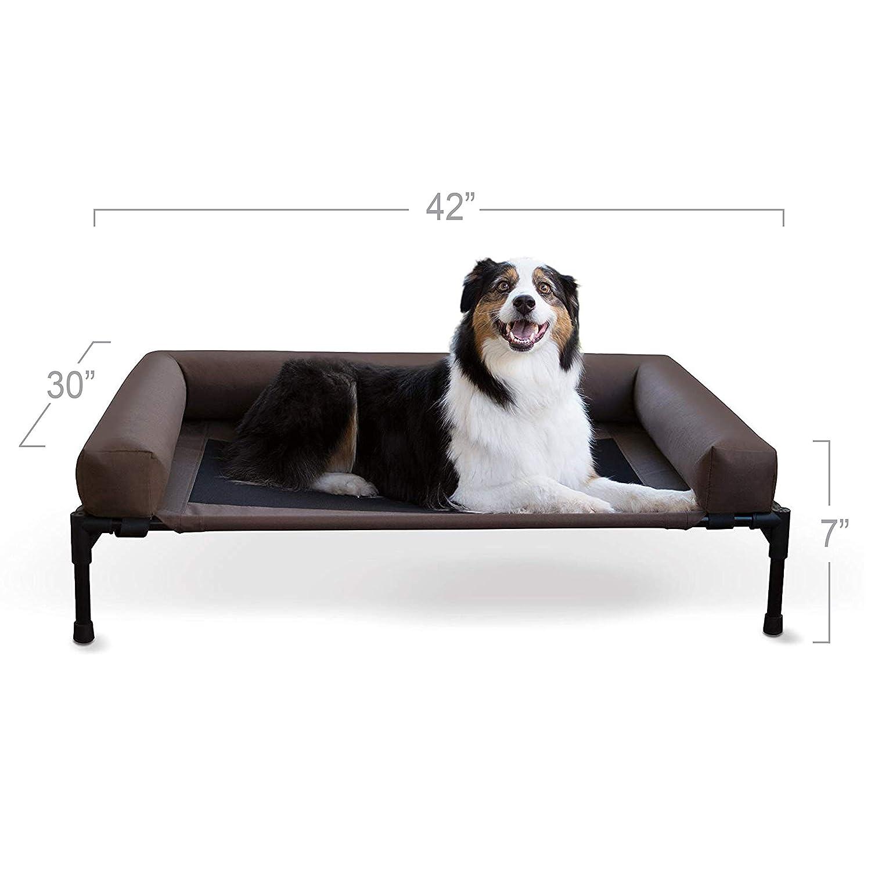K H Pet Products Original Bolster Pet Cot Elevated Pet Bed