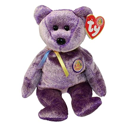 7a6591dbaef Amazon.com  TY Beanie Baby - DREAMER the Bear (BBOM March 2003 ...