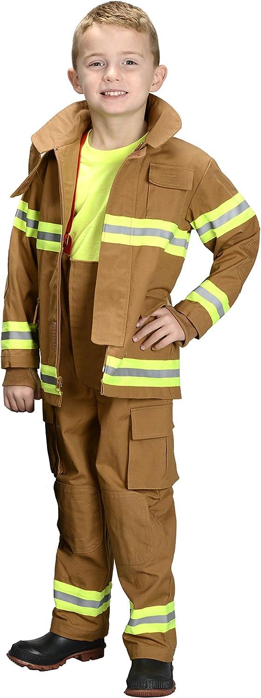 Amazon.com: Aeromax Jr. Traje de bombero búnker ...