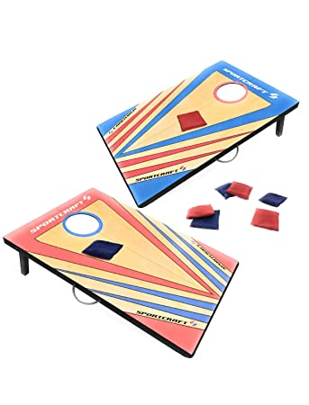 Peachy Amazon Com Sportcraft Cornhole Bean Bag Toss Gaming Set Gmtry Best Dining Table And Chair Ideas Images Gmtryco