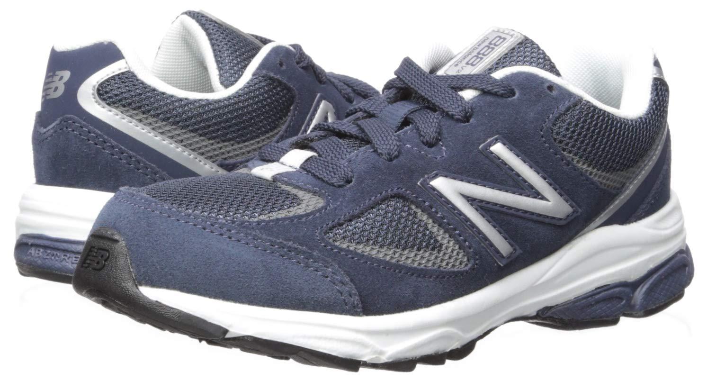 New Balance Boys' 888v2 Running Shoe, Navy/Grey, 2.5 M US Little Kid by New Balance (Image #6)