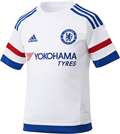 traductor Taxi Pionero  Amazon.com: adidas Chelsea Kids Away Jersey 2015 – 2016-13-14 Years:  Clothing