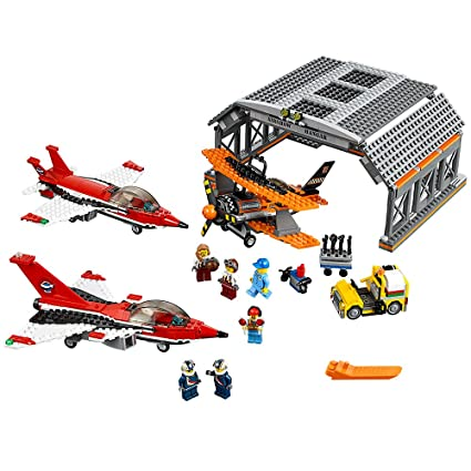 Amazoncom Lego City Airport Air Show 60103 Creative Play Building