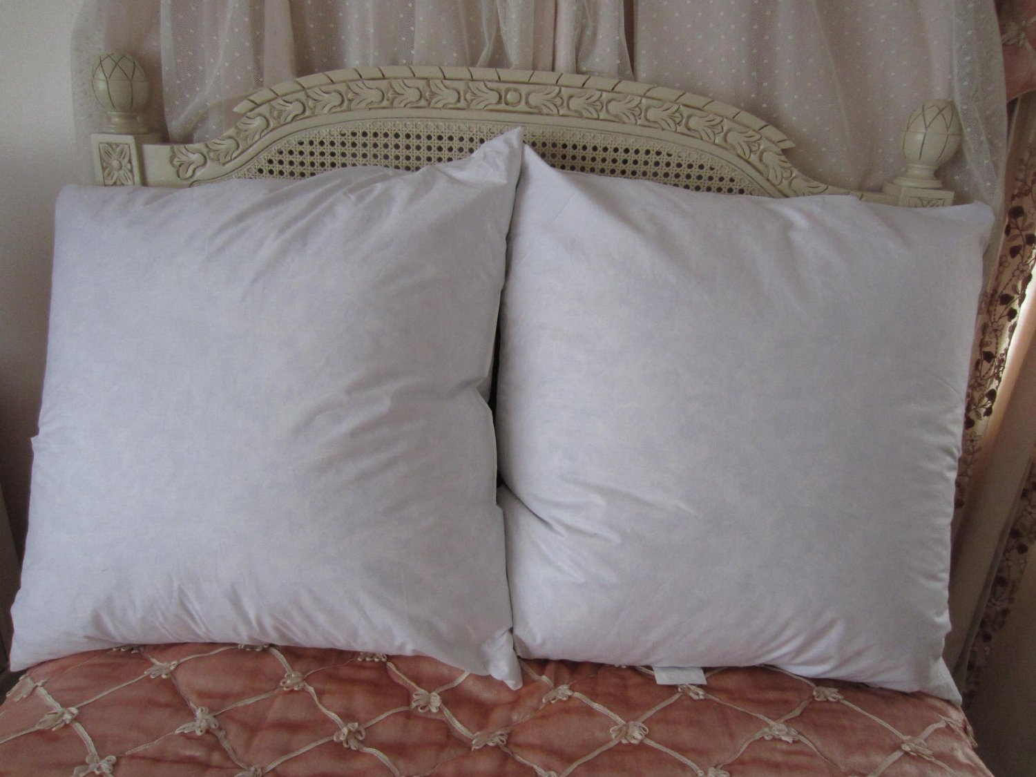 pillows deluxefanddpillow down snow sheridan feather deluxe pillow filled
