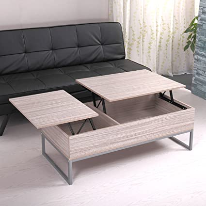 NEW Modern Wood Lift Top Storage Coffee Table Living Room Office Home Furniture Solid Wood and & Amazon.com: NEW Modern Wood Lift Top Storage Coffee Table Living ...