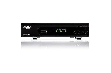 Xoro HRS 8670 LAN Digitaler Satelliten-Receiver (HDTV, DVB-S2, HDMI, SCART, SAT-IP Server, Live-Stream, PVR-Ready, 2x USB 2.0