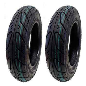 Amazon set of two scooter tubeless tire 350 10 front or rear set of two scooter tubeless tire 350 10 front or rear fits on 10 sciox Gallery