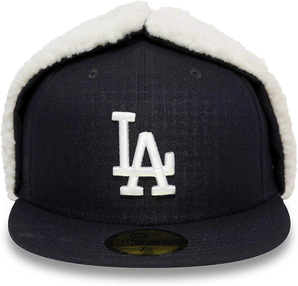 New Era Gorra 59Fifty Dogear DodgersEra de Beisbol Baseball (7 1/2 (59, 6 cm) - Azul Oscuro): Amazon.es: Ropa y accesorios