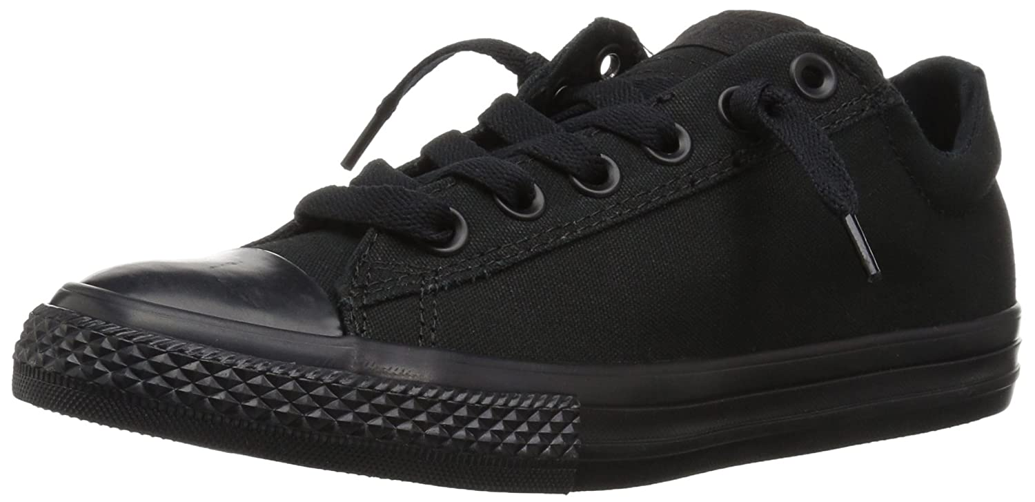 3bfd2968455357 Converse Unisex-Child Chuck Taylor All Star Junior Street Leather Mid  Trainers  Amazon.co.uk  Shoes   Bags