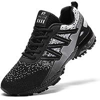 Ahico Zapatillas de Deporte para Correr Hombres Tenis Zapatos Ligero Moda Caminar Transpirable Entrenamiento Deportivo…