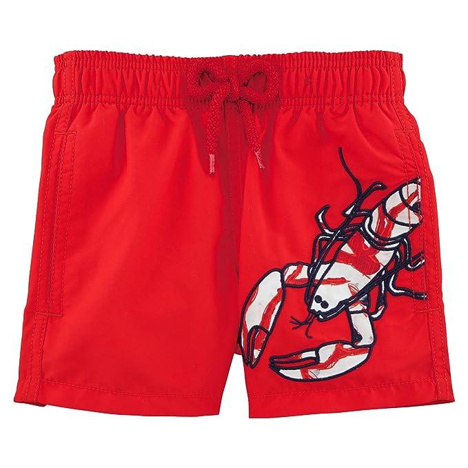8d3d77b63aad6 Vilebrequin Lobster Embroidery Boy Swimwear - Boys - 8 Years - Poppy ...
