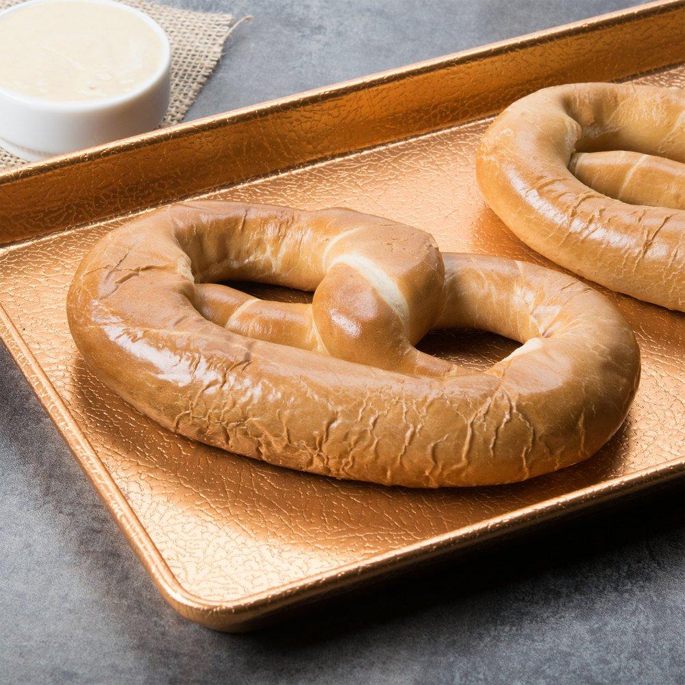 PretzelHaus Bakery Authentic Bavarian Plain Soft Pretzel, Pack of 50 by Pretzelhaus (Image #4)