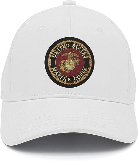 Bgejkos USMC-Eagle 0P768 Gorra de béisbol Ajustable de algodón con ...