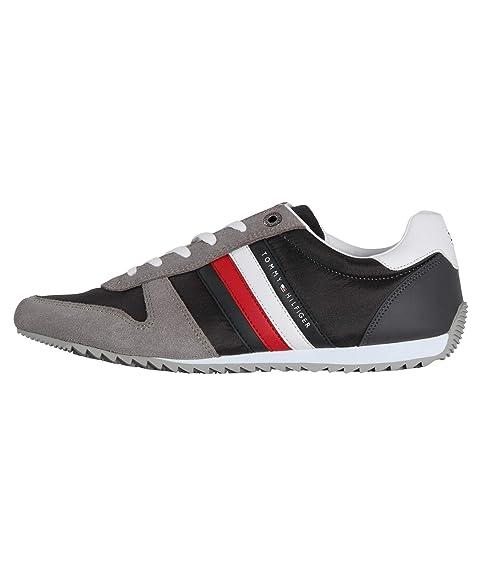 Tommy Hilfiger Runner Magnet FMFM02024008 Zapatillas para Hombre: Amazon.es: Zapatos y complementos