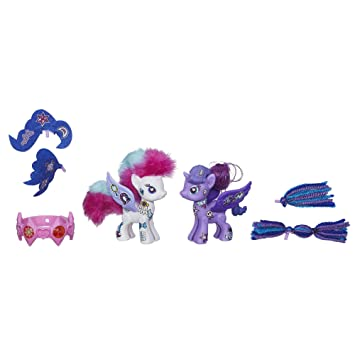 My Little Pony Pop Rarity And Princess Luna Deluxe Style Kit Amazon