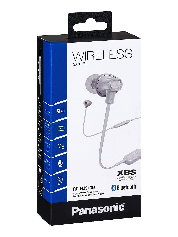 Panasonic RP-NJ310B - Auriculares inalámbricos (In-Ear, Bluetooth ...