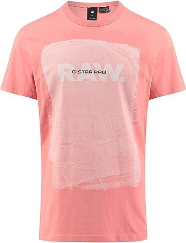 G-STAR RAW Belfurr Art RTS/S Camiseta para Hombre
