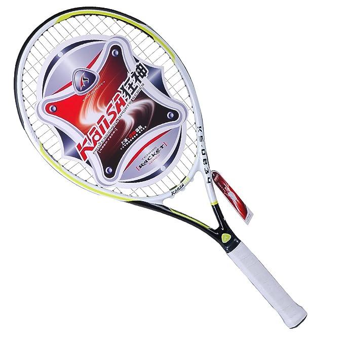 Amazon.com : KANSA Adult Training Tennis Racquet KS834 : Sports & Outdoors