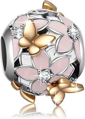 Unique Presents Design Best Charm fit European 925 Silver Sterling Bead Bracelet