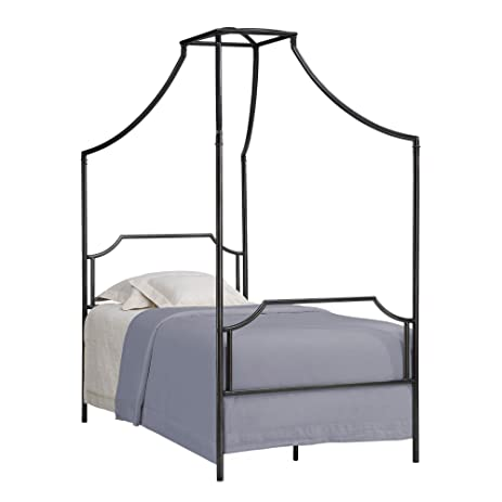 Metro Shop Bailey Twin Size Metal Canopy Bed-Bailey Twin Size Bed  sc 1 st  Amazon.com & Amazon.com: Metro Shop Bailey Twin Size Metal Canopy Bed-Bailey ...