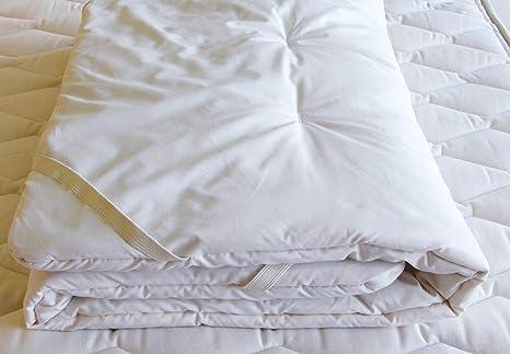 Santo Cordero Organics Cozy bollos Organic lana cuna colchón Topper