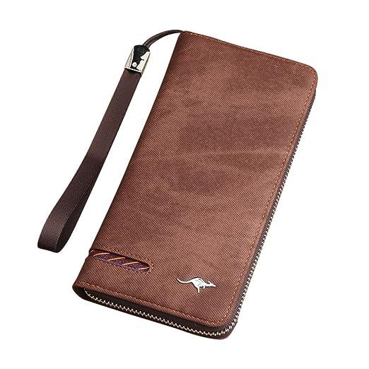 Men/'s Designer Real Soft Leather Wallet