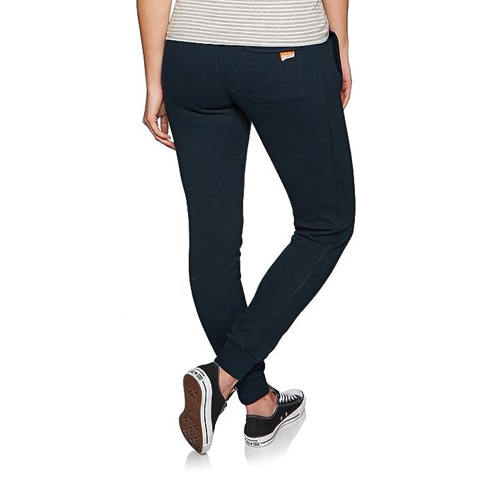 quality design 27cd1 281d8 Superdry Jogginghose Damen ORANGE Label Slim Jogger Eclispe Navy