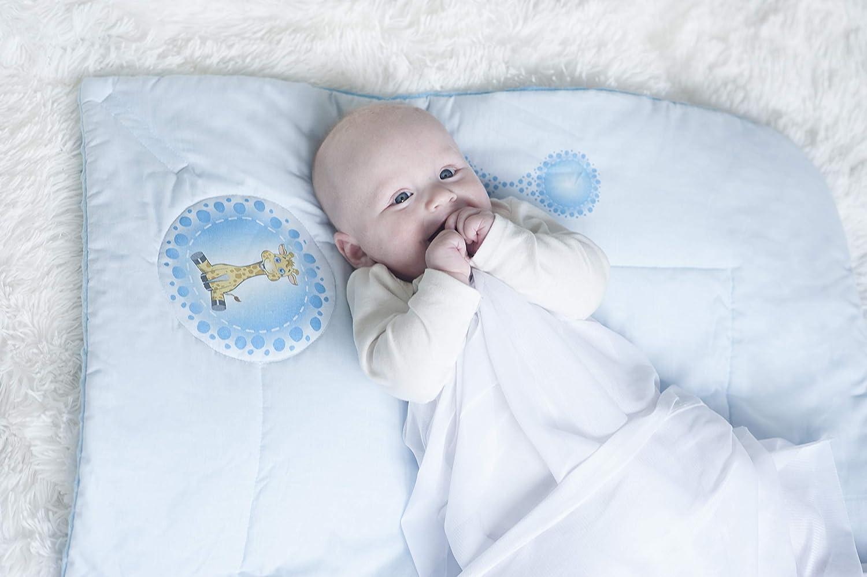 Sac de couchage pour nouveau-n/é BlueberryShop 74 x 72 cm Couverture en coton Minky pour b/éb/é Parfait comme cadeau de f/ête pr/énatale Pour enfants de 0 /à 3 mois