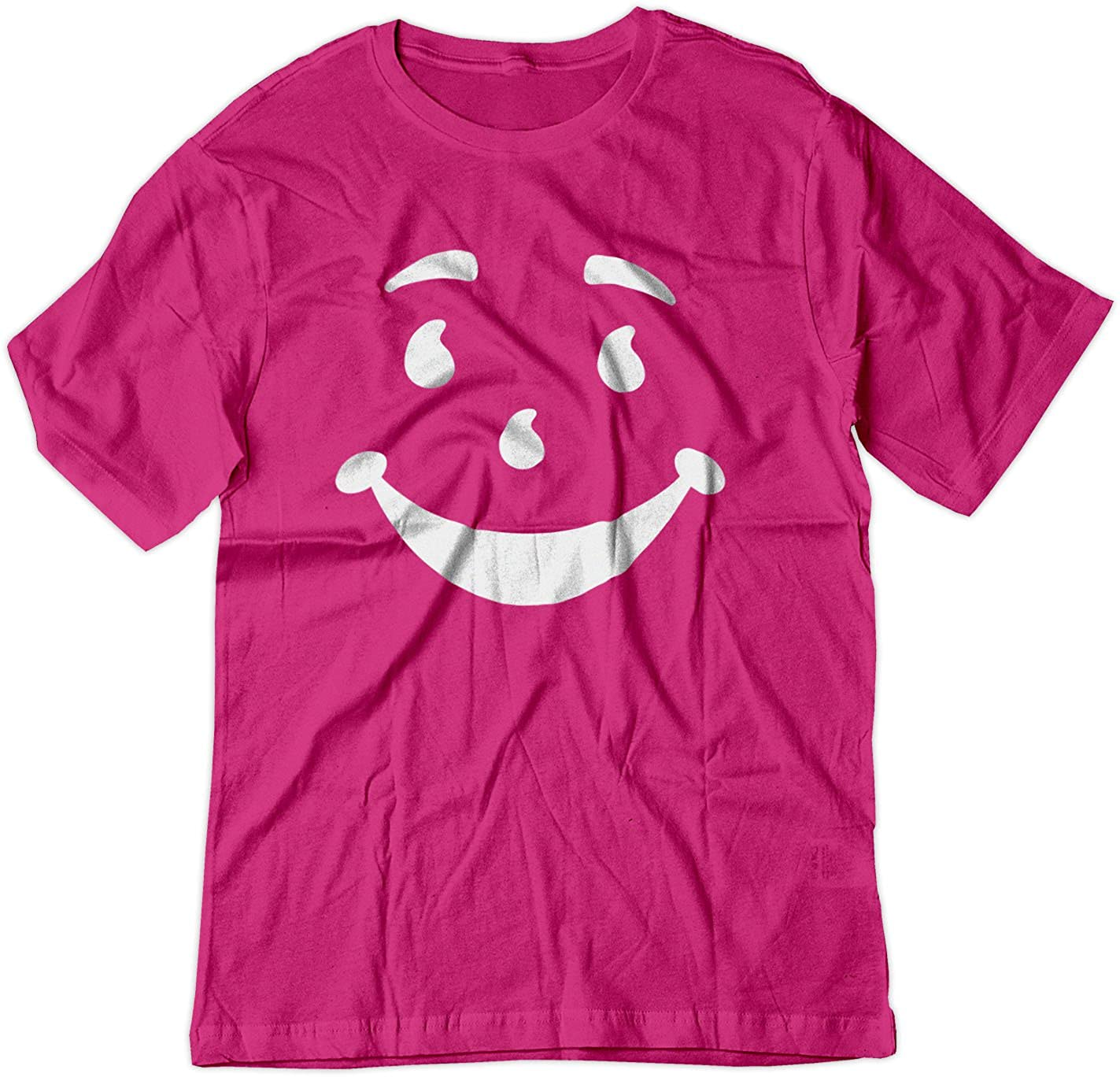 BSW Men's Kool-Aid Man Smiley Face Oh Yeah! Juice Shirt 1387-1R