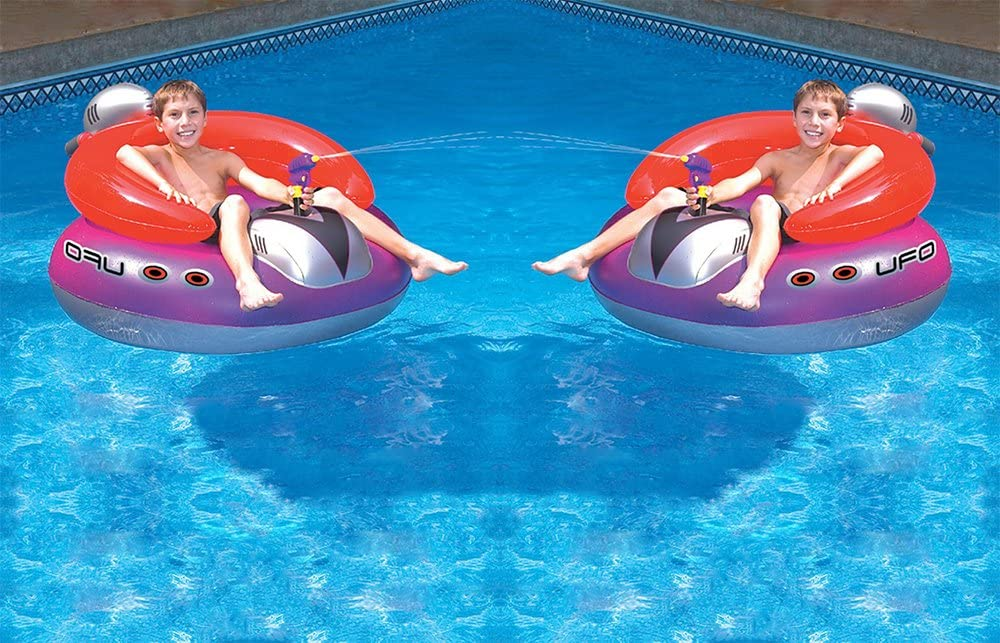 Swimming Pool Floating Water Hammock Lounge Chair Inflatable Summer Swimline