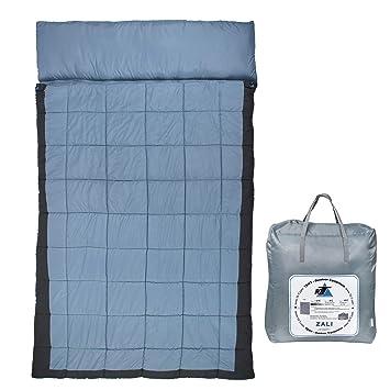 10T Outdoor Equipment 10T Zali Saco de Dormir de Manta, Azul, Estándar: Amazon.es: Deportes y aire libre