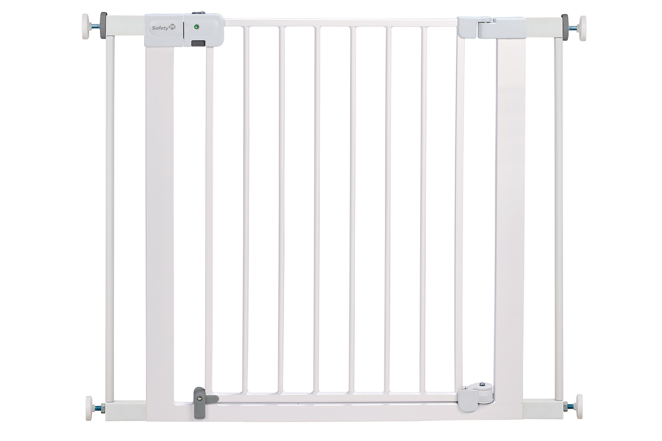 Safety 1st Easy Install Auto Close Walk Thru Gate, Fits Spaces between 29'' and 38''