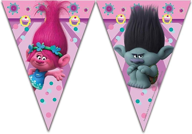 Amazon.com: Trolls plástico bandera Banner: Toys & Games
