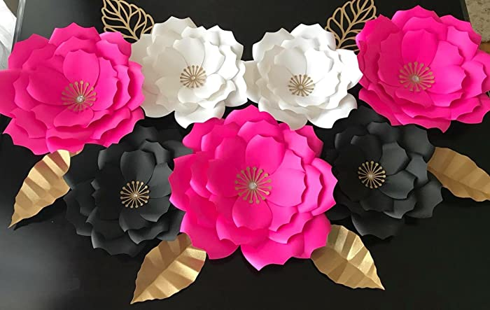 Amazon Kate Spade Inspired Medium Handmade Paper Flowers Use