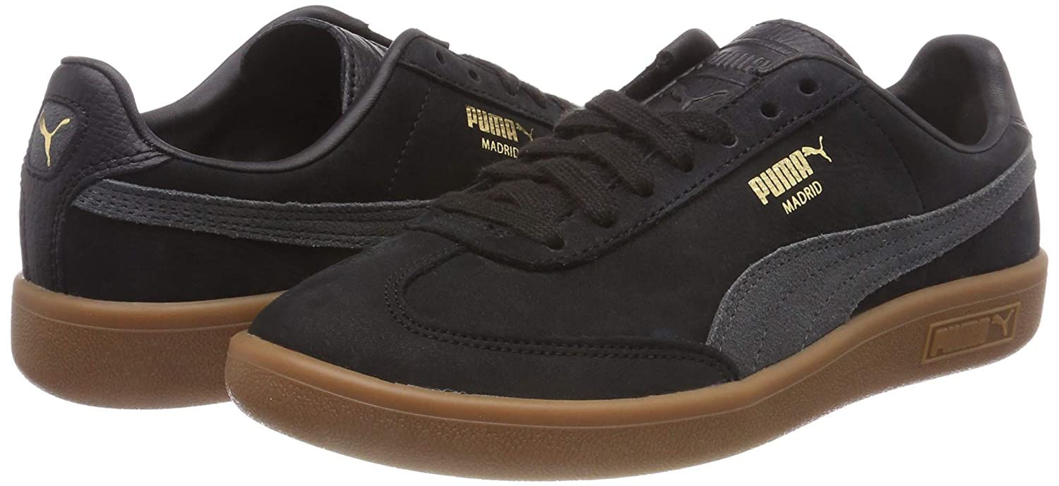 Amazon.com | Puma Madrid NBK Low-Top Sneakers, Puma Black ...