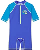 Animal Sun Suits - Animal Bodacious Short Sleeve UV Suit - Ultra Violet Blue