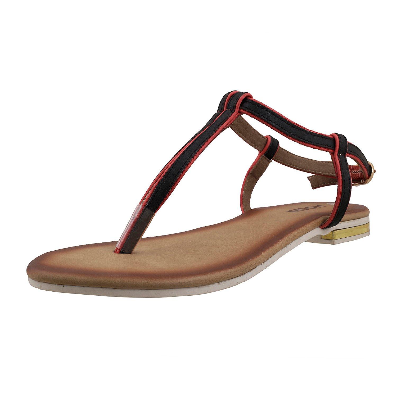 Buy Mochi Women Flat Sandals at Amazon.in