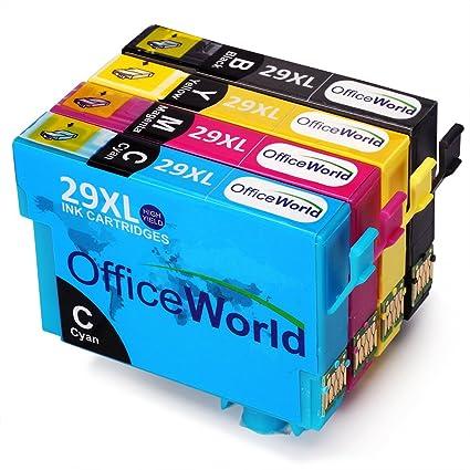 OfficeWorld 29XL Cartuchos de Tinta compatibles para Epson ...