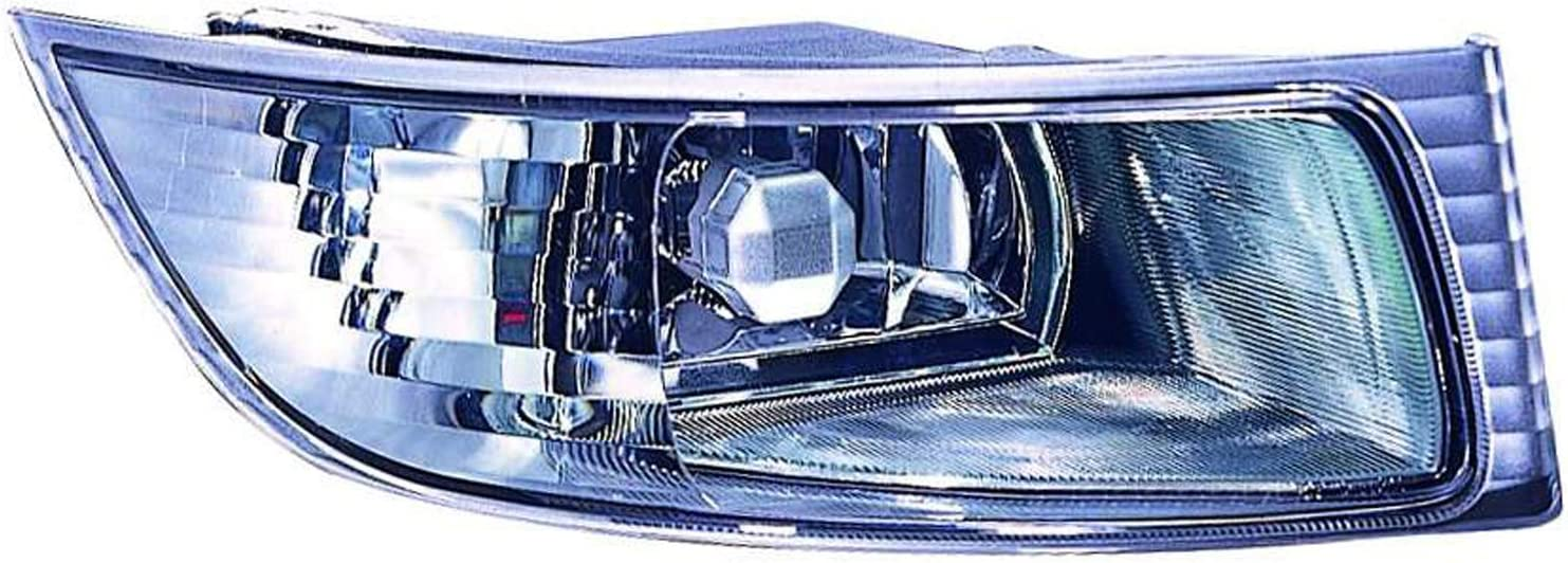 No variation Multiple Manufactures LX2593105OE Standard Fog Light Lens//Housing