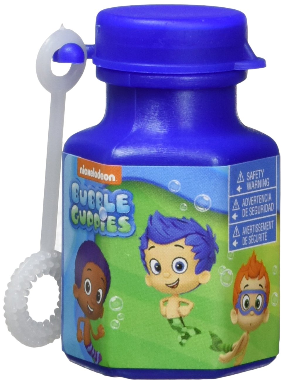 Amscan Aqua Awesome Guppies Party Mini Bubble Favours, Plastic, 0.6 Ounces Toys and Games (72 Piece)
