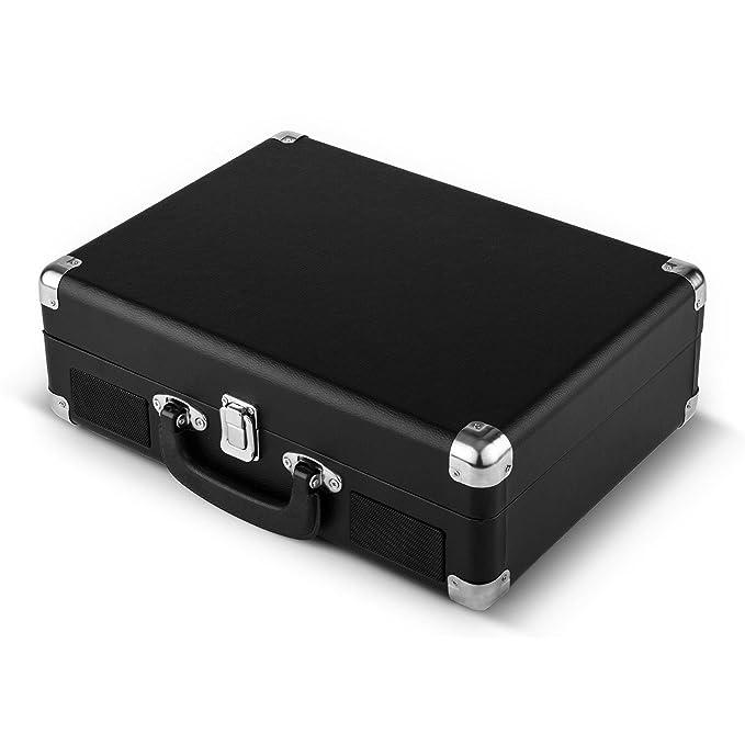 Costime PC grabadora portátil maleta Tocadiscos Vinilo 3 ...