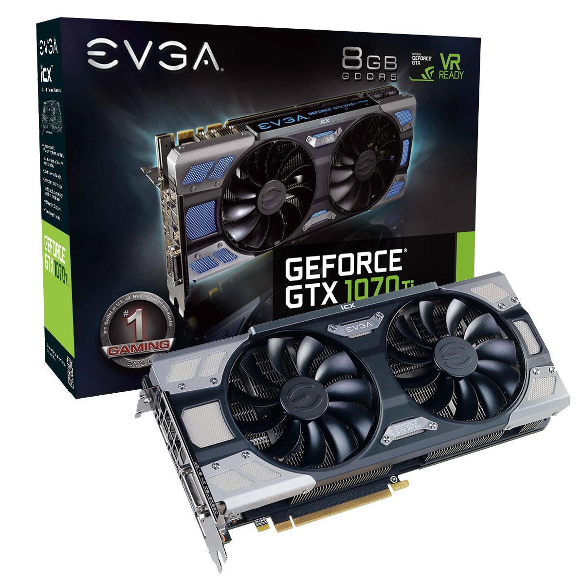 EVGA GeForce GTX 1070Ti FTW2