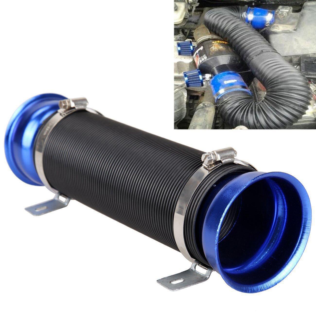 Madlife Garage, kit universale per auto, con tubo flessibile e sistema per l'aspirazione dell'aria fredda (75 mm) con tubo flessibile e sistema per l' aspirazione dell' aria fredda (75 mm)