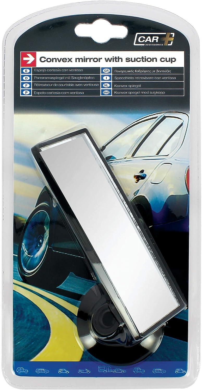 Sumex 2808043 Flacher Panoramaspiegel mit Saugnapf